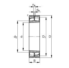 241/900-B-K30-FB1  Sealed Bearing