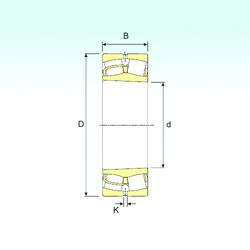 241/560 K30 ISB Aligning Roller Bearing