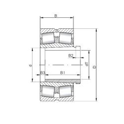 24096 K30CW33+AH24092 CX Aligning Roller Bearing