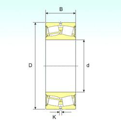 24124-2RS ISB Roller Bearings
