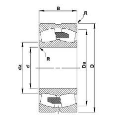 241/630YMB Timken Roller Bearings