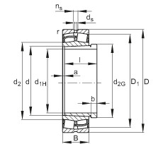 24126-E1-K30 + AH24126  Self-aligning Bearing