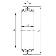 240SM400-MA  Aligning Bearings