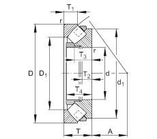 294/630-E-MB FAG Thrust Roller Bearings