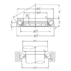 29340 NTN Thrust Roller Bearings