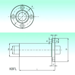 KBFL 30-PP  Ball Bearings Catalogue