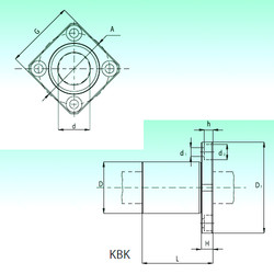 KBK 60  Bearings Disassembly Support