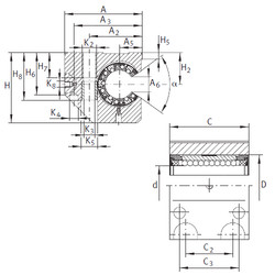 KGNC 50 C-PP-AS INA Bearings Disassembly Support