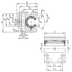 KGNC 20 C-PP-AS INA Ball Bearings Catalogue