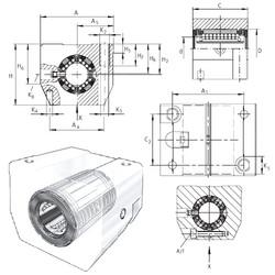 KGSNS30-PP-AS INA Ball Bearings Catalogue