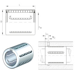 KH08-PP INA Linear Bearings
