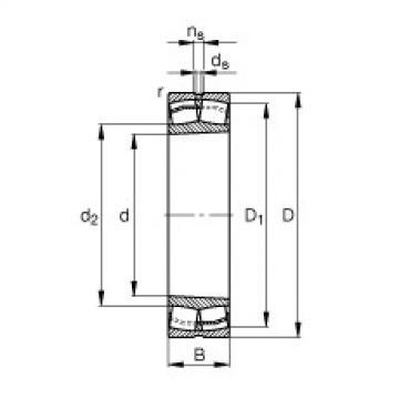 24180-B-K30  Self-aligning Bearing