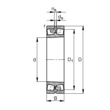 241/950-B-K30-MB  Self-aligning Bearing