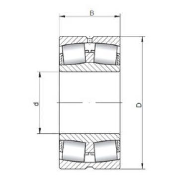 24126W33 ISO Spherical Roller Bearings