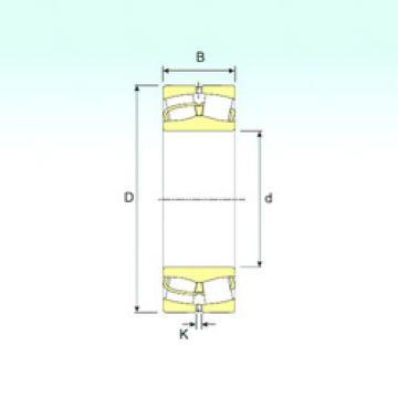 24120 ISB Aligning Roller Bearing