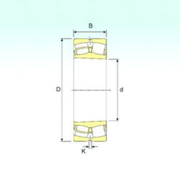 24132 K30 ISB Roller Bearings