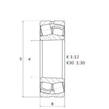 248/1500K30 NTN Sealed Bearing