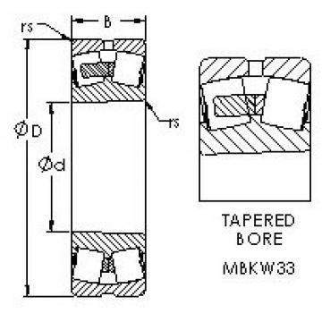 24136MBK30W33 AST Sealed Bearing