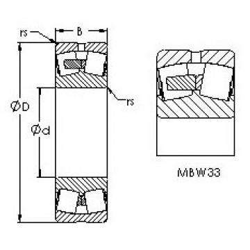 24152MBW33 AST Sealed Bearing