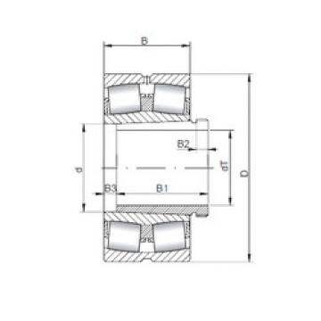 241/500 K30CW33+AH241/500 ISO Aligning Roller Bearing