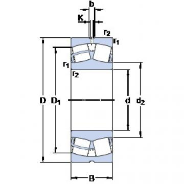 24076 CC/W33 SKF Self-aligning Bearing