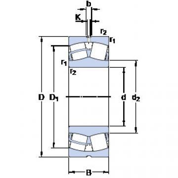24124 CC/W33 SKF Aligning Roller Bearing