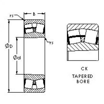 24132CK30 AST Aligning Roller Bearing