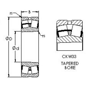 24136CAK30W33 AST Spherical Roller Bearings