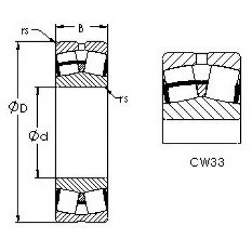 24076CAW33 AST Aligning Bearings