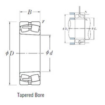24096CAK30E4  Spherical Roller Bearings
