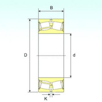 24130-2RS ISB Sealed Bearing
