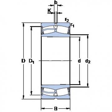 24130-2CS5K30/VT143 SKF Spherical Roller Bearings