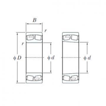 24084R KOYO Aligning Roller Bearing