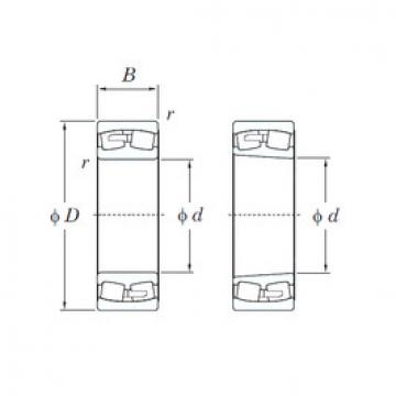 24184RK30 KOYO Roller Bearings