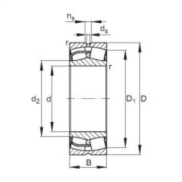 24134-E1  Spherical Roller Bearings