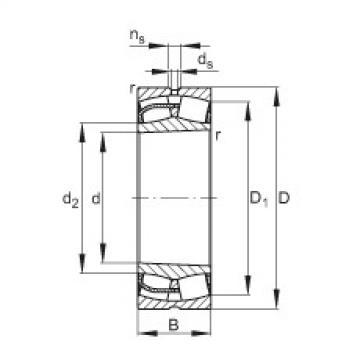 24124-E1-K30  Spherical Roller Bearings