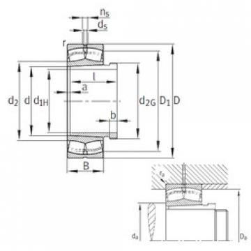 24124-E1-K30+AH+AH24124  Aligning Roller Bearing