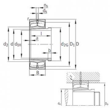 24128-E1-K30+AH+AH24128  Aligning Roller Bearing