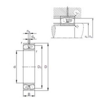 24080-E1A-MB1  Self-aligning Bearing