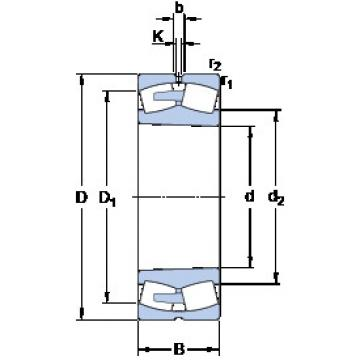 241/800 ECAK30/W33 SKF Aligning Roller Bearing