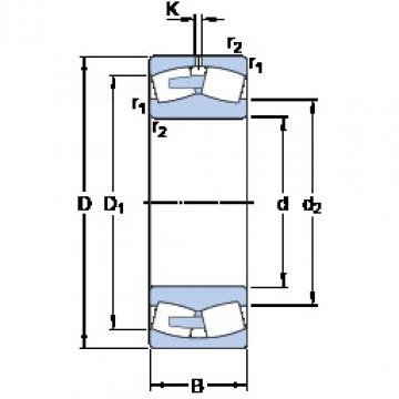248/1800 CAFA/W20 SKF Roller Bearings