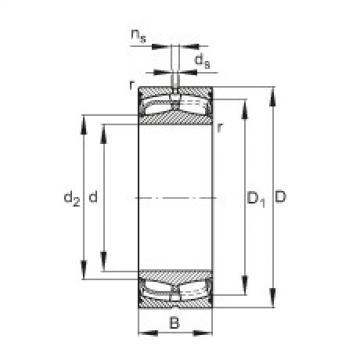 24136-E1-2VSR  Self-aligning Bearing