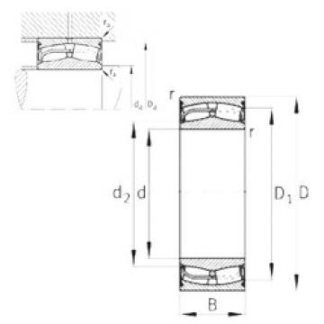 24122-E1-2VSR-H40  Aligning Roller Bearing
