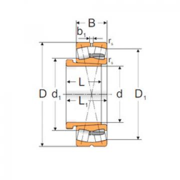 24144 MBW33+4753744HK MPZ Spherical Roller Bearings