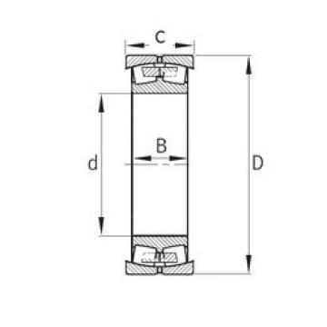 242427 C5 SKF Roller Bearings