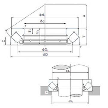 29348E NACHI Thrust Bearings
