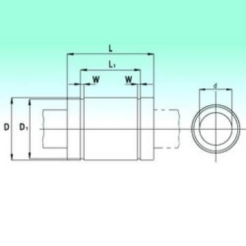 KB60125-PP  Plastic Linear Bearing