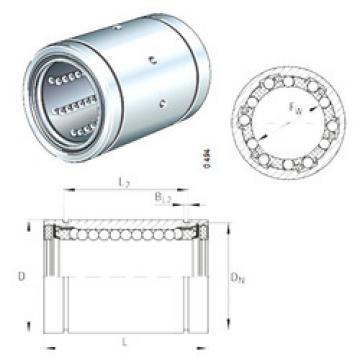 KB25-PP INA Plastic Linear Bearing