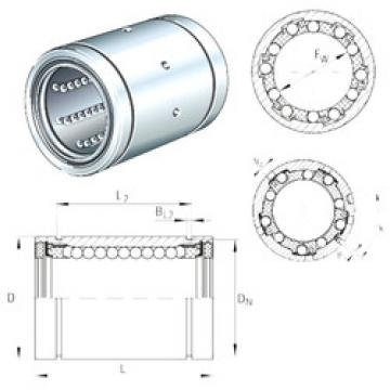 KB16-PP-AS INA Plastic Linear Bearing