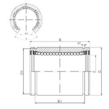 KB4080OP CX Plastic Linear Bearing